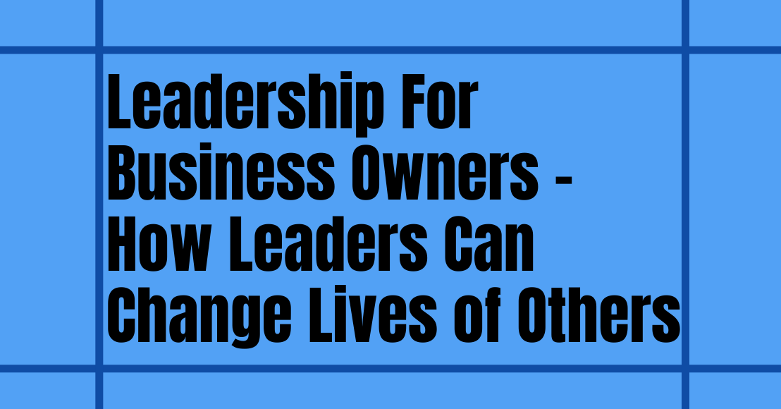 leadership for business owners