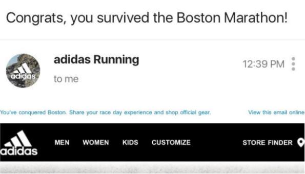 Print Advertising Mistakes - Adidas