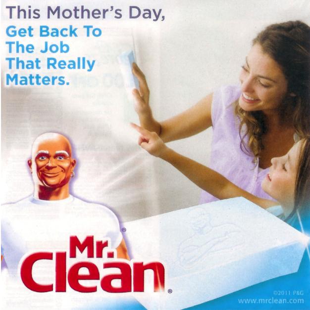 Print Advertising Mistakes - Mr. Clean